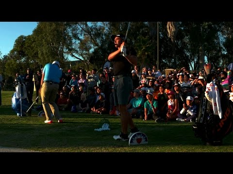 Rickie Fowler hosts youth golf clinic at Farmers Insurance Open