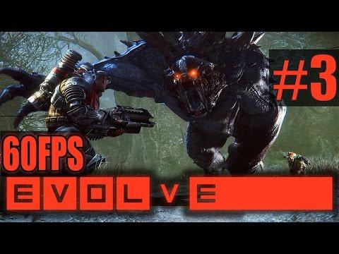 Evolve [60FPS] - Игра за монстров - Ч.3 - Голиаф