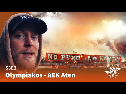 Destination Europa: Olympiakos - AEK Aten (S3E3)