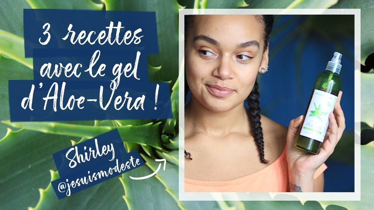 3 Recettes Simples Et Naturelles Avec Le Gel D Aloe Vera Avec