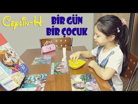 Ceylin-H   Bir Gün Bir Çocuk Şeker Sanmış İlacı - Nursery Rhymes & Simple Kids Songs Sing & Dance