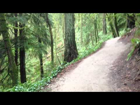 Pittock Mansion Hike in under 40 seconds