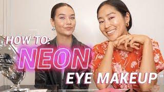 Neon Eye Makeup Tutorial with AMANDA STEELE | Song of Style