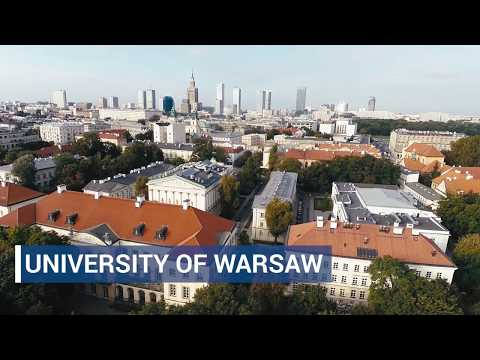 The most important information about the University of Warsaw in 36-second video