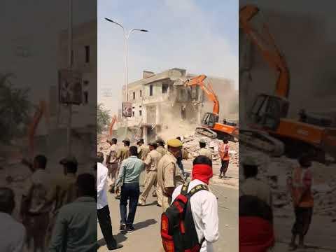 JDA on Heavy work at gopalpura bypass part-1 // police force v/s merchants //