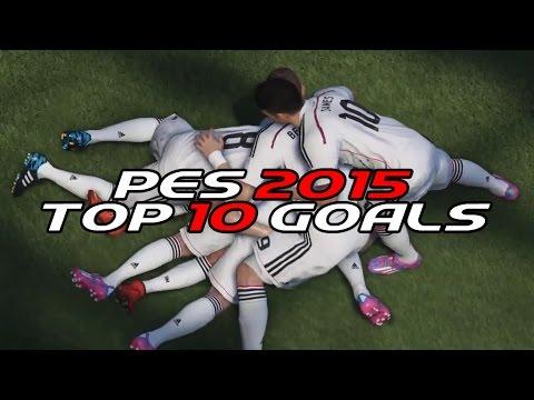 PES 2015 - Top 10 Goals #2 [HD]