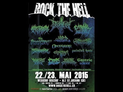 5-23-15 PROPHECY LIVE at Rock The Hell Fest in Switzerland!!!