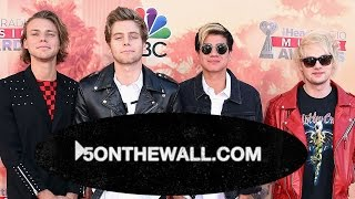 5 Seconds of Summer 5 On the Wall 'Safety Pin' Mystery Announcement!