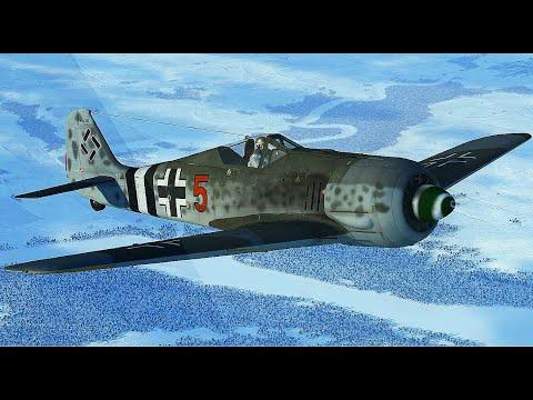 IL-2 Sturmovik: Battle of Stalingrad - Focke-Wulf FW 190 hunting patrol