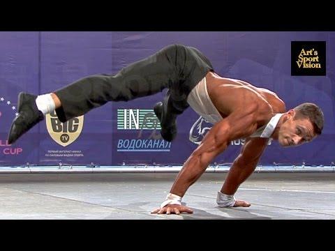 2013 World IFBB Men's FITNESS - NEKRASOV Konstantin (RUS) - Round 3 (Некрасов Константин)