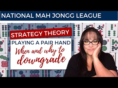 National Mah Jongg League Strategy Theory 20200630