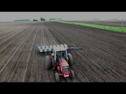 A view from a drone: Spring planting in the Corn Belt