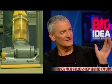 DYSON Vacuum inventor Sir James Dyson interview