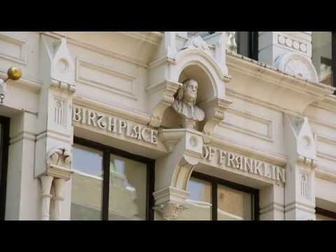 Boston History in a Minute: Benjamin Franklin Birthplace