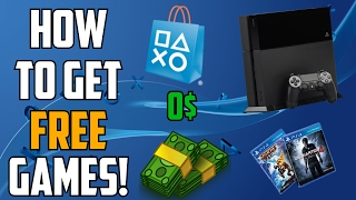 HOW TO GET FREE PS4 GAMES! | FREE GAMES | PLAYSTATION STORE GLITCH