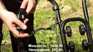 Электрический культиватор HYUNDAI T 1500 E смотреть