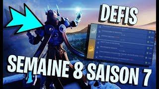 DEFIS WEEK 8 SAISON 7 - #FORTNITE - #8 creative code: TONTONLEGO