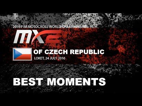MX2 Best Moments MXGP of Czech Republic 2016