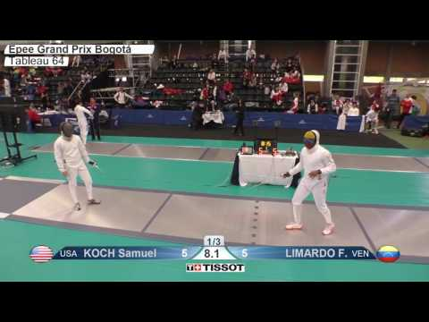 FE M E Individual Bogota COL Grand Prix 2017 T64 18 blue KOCH USA vs LIMARDO VEN