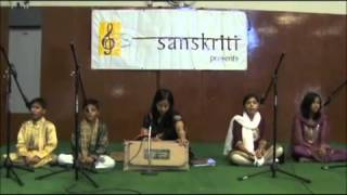 ShriRanjani - School of Hindustani Classical Vocal music - Raag Durga