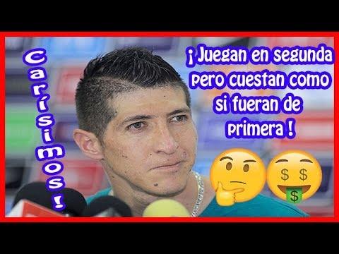 Los 10 Futbolistas más caros del Ascenso MX !
