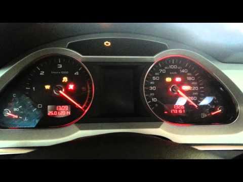 Audi A6 4F tachometer like on Audi R8