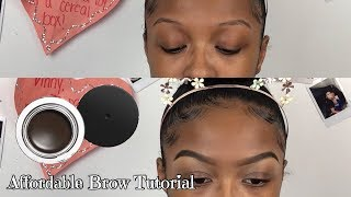 Affordable Eyebrow Tutorial | Brows for Beginners | Lovevinni_