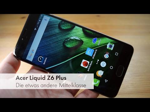 Acer Liquid Z6 Plus - Mittelklasse-Smartphone mit großem Akku im Test