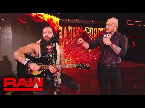 Elias takes out Baron Corbin with his guitar: Raw, Oct. 22, 1018