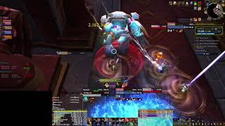 Upper+21 - Teeming, Quaking, Fortified (7.3) Arms Warrior PoV