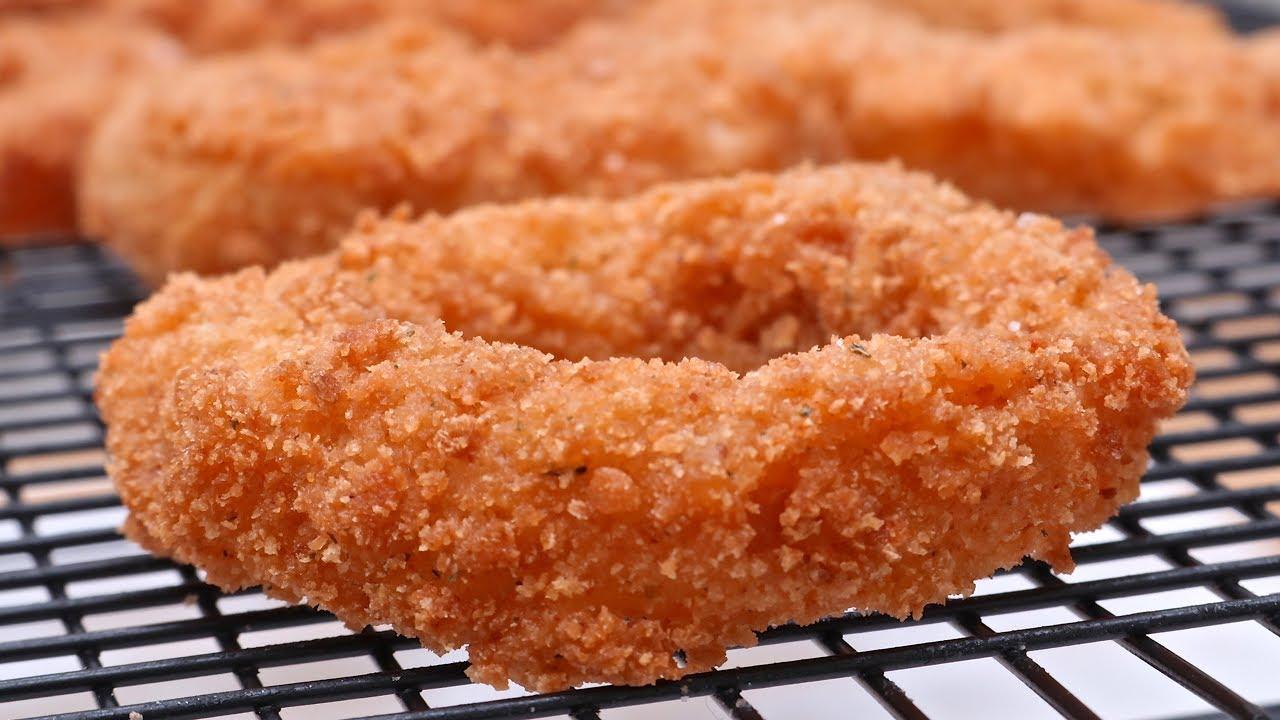 Crispy Buttemilk Onion Rings Recipe