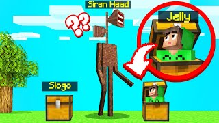 Playing SIREN HEAD HIDE And SEEK! (Minecraft)