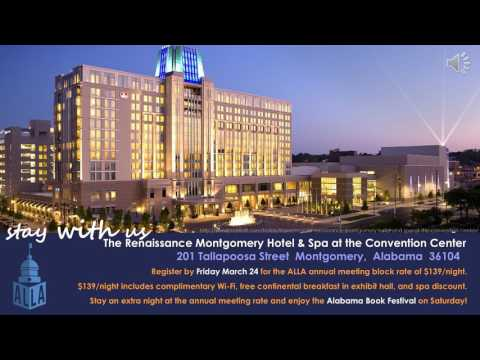 Alabama Library Association 2017 Annual Convention ad
