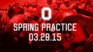 Ohio State Football: Spring Practice 2015 - Day 5