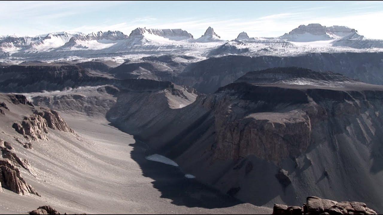 Dry valleys, Antartica