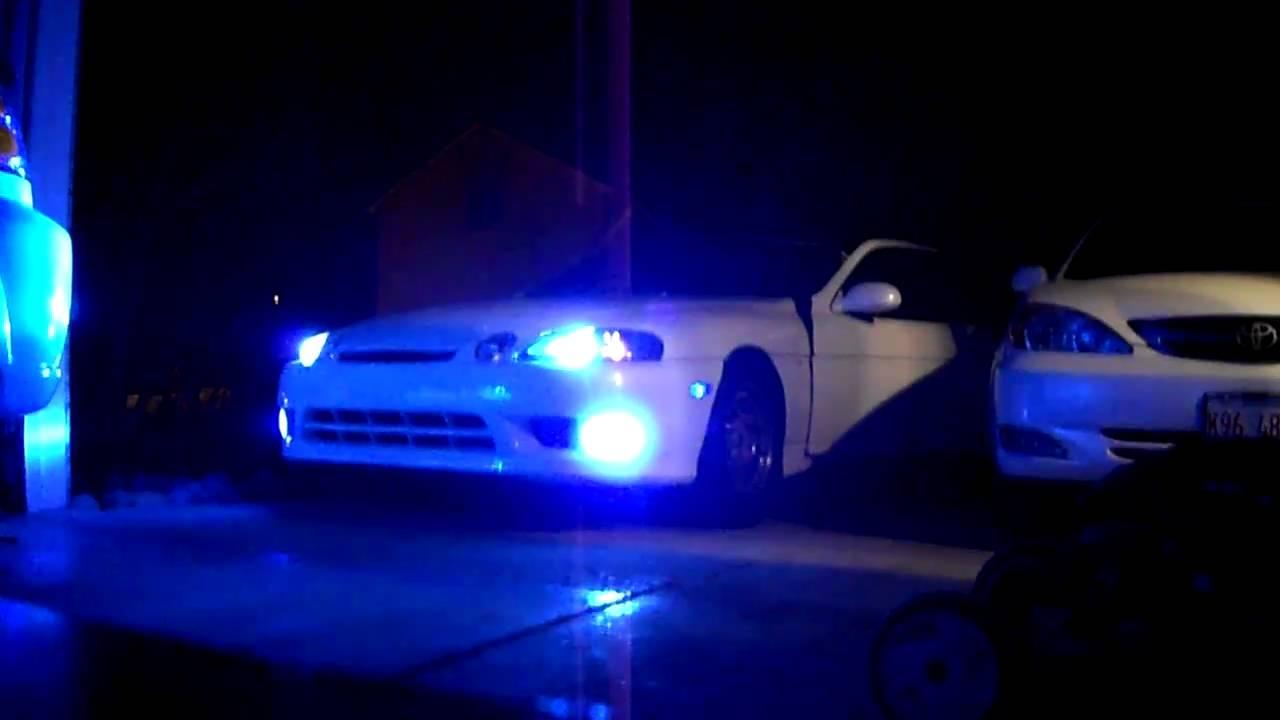 Sc300 Hid Lights Youtube