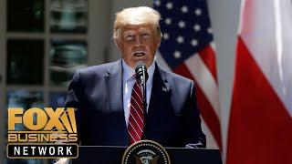 Trump: US Navy ship 'destroyed' Iranian drone thumbnail