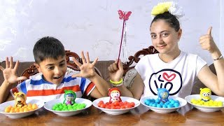 Learn colors with Guka and Candy Surprice Egg for Kids