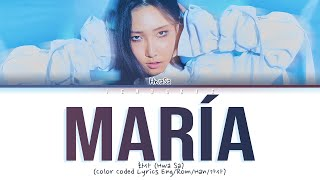 "Download Hwa Sa (화사)- ""Maria (마리아)""(Color Coded Lyrics Eng/Rom/Han/가사)"
