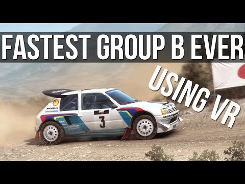 DiRT Rally - Driving The Fastest Group B Car Ever Made | VR | |