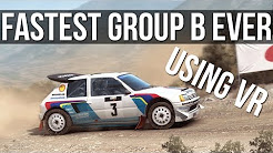 DiRT Rally - Driving The Fastest Group B Car Ever Made | VR |
