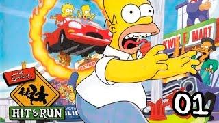 The Simpsons: Hit & Run - Прохождение pt1