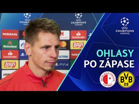 OHLASY | Slavia – Dortmund 0:2