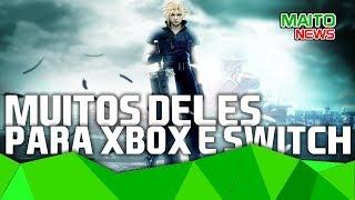FORZA HORIZON 3 e seus 10 milhões e vários FINAL FANTASY para Xbox One e Switch