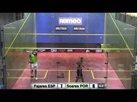 Remeo Open 2018: Irer Pajares ESP - Rui Soares POR