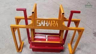LANÇAMENTO: Mini Máquina para produzir Blocos de Concreto - SAHARA TECNOLOGIA