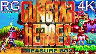 Gunstar Heroes Treasure Box - PlayStation 2 - Showcase of games and bonus content [4K60]