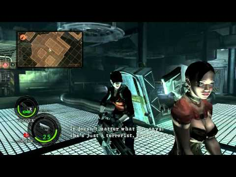 HD Resident Evil 5 : Fans made similar Jill's voice for the Story MODE!! [Test ver.]