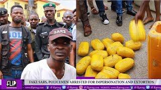 BUSTED FAKE SARS NABBED DRUG KINGPIN ARRESTED MORE