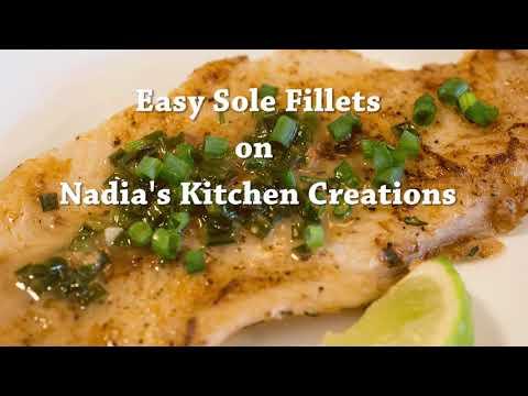 Easy Sole Fillets - Recipe